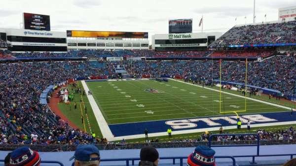 New Era Field, vak: 202, rij: 8, stoel: 6