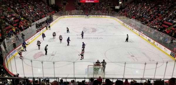 Floyd L. Maines Veterans Memorial Arena, vak: 8, rij: K, stoel: 14