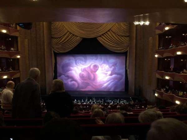Metropolitan Opera House - Lincoln Center, vak: Grand Tier, rij: F, stoel: 110