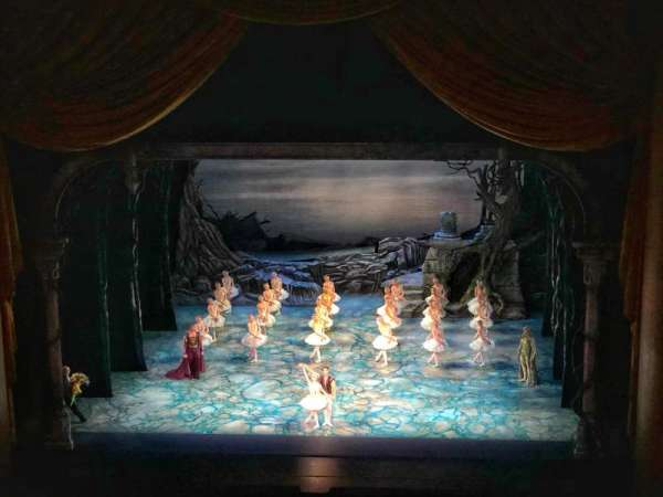 Metropolitan Opera House - Lincoln Center, vak: Balcony, rij: B, stoel: 110