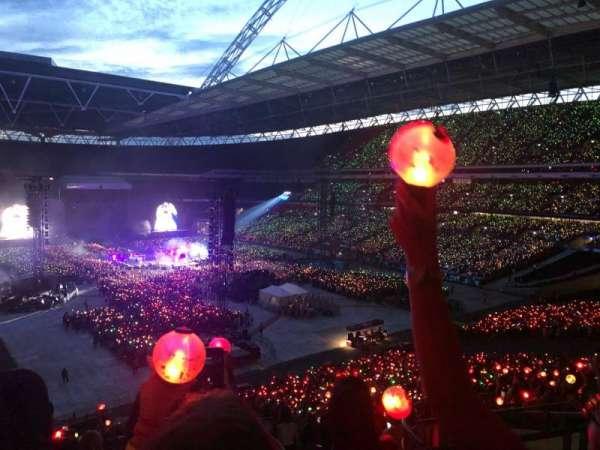Wembley Stadium, vak: 217, rij: 15, stoel: 92