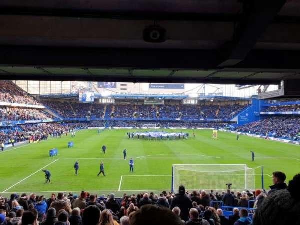 Stamford Bridge, vak: Matthew Harding Lower, rij: DD, stoel: 97