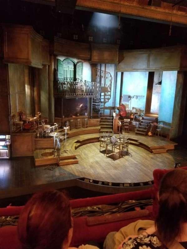 Walter Kerr Theatre, vak: Mezzanine L, rij: B, stoel: 5