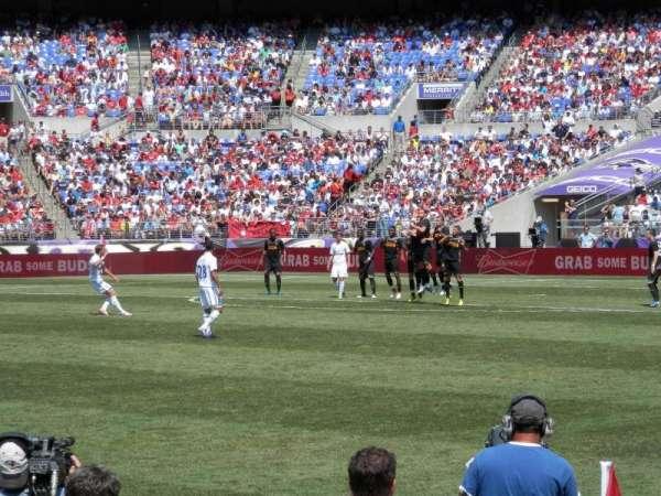 M&T Bank Stadium, vak: 127, rij: 3, stoel: 20