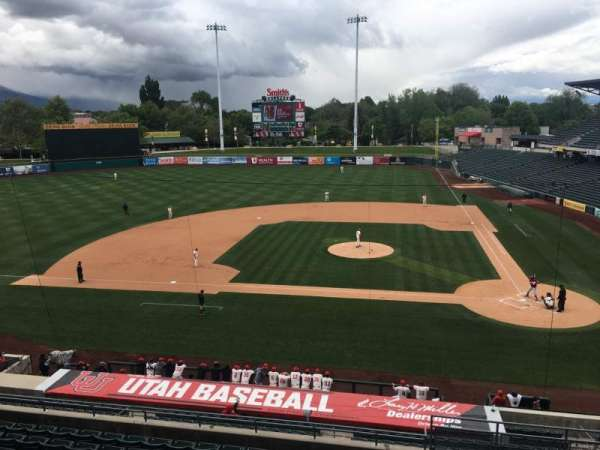 Smith's Ballpark, vak: Suite, rij: 19