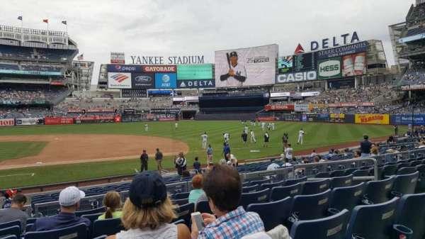 Yankee Stadium, vak: 115, rij: 7, stoel: 9