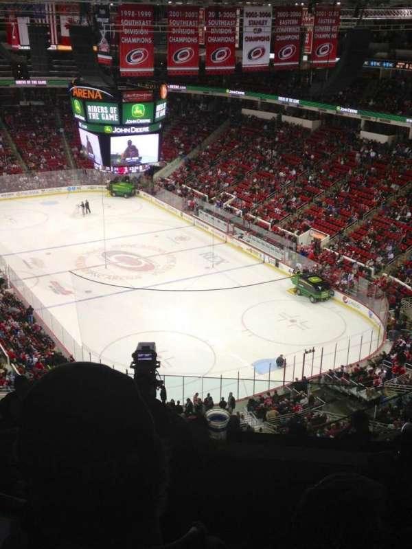 PNC Arena, vak: 317, rij: J, stoel: 5
