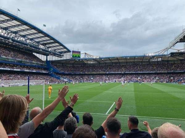 Stamford Bridge, vak: Shed End Lower 3, rij: 8, stoel: 87