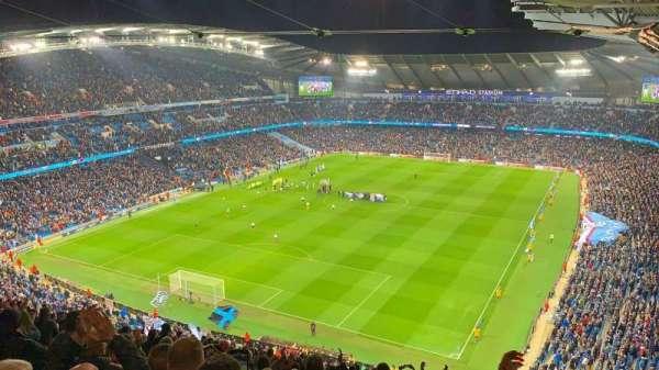 Etihad Stadium (Manchester), vak: 313, rij: Y, stoel: 322