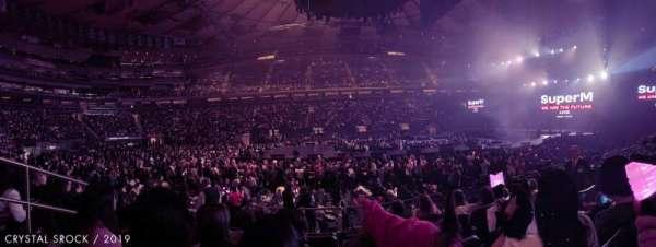 Madison Square Garden, vak: 107, rij: 5, stoel: 3