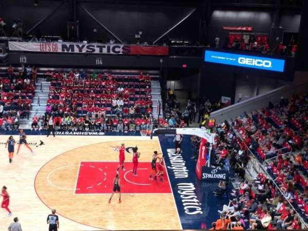 Entertainment and Sports Arena, vak: 203, rij: FF, stoel: 16