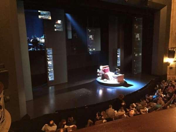 Music Box Theatre, vak: Mezzanine L, rij: A, stoel: 15