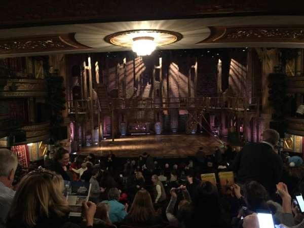 Richard Rodgers Theatre, vak: Orchestra C, rij: S, stoel: 110