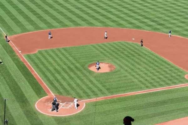 Oriole Park at Camden Yards, vak: 332, rij: 14, stoel: 4