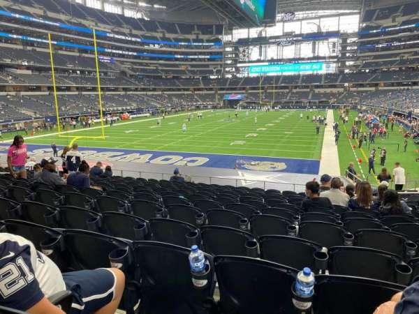 AT&T Stadium, vak: 121, rij: 20, stoel: 13