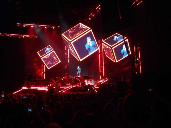 Budweiser Stage, vak: 101, rij: N, stoel: 15