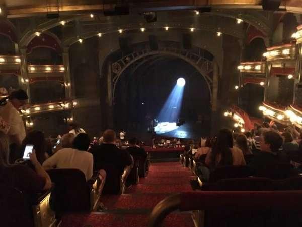 Lyric Theatre, vak: Dress Circle, rij: K, stoel: 2