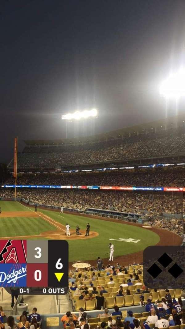 Dodger Stadium, vak: 125LG, rij: A, stoel: 3