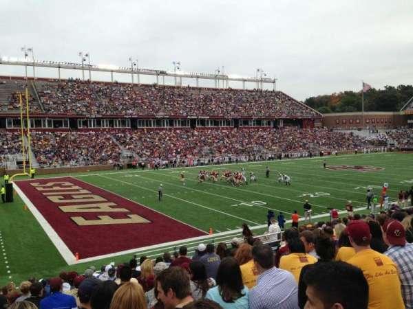 Alumni Stadium, vak: A, rij: 26, stoel: 20