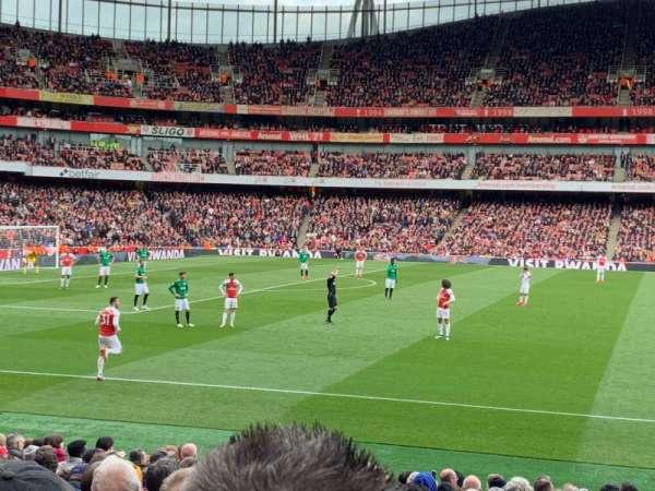 Emirates Stadium, vak: 2, rij: 18, stoel: 36