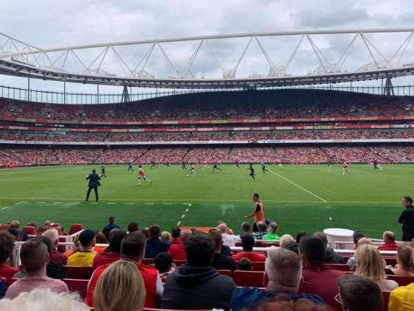 Emirates Stadium, vak: 1, rij: 11, stoel: 11