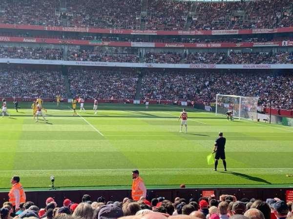 Emirates Stadium, vak: 16, rij: 27, stoel: 499