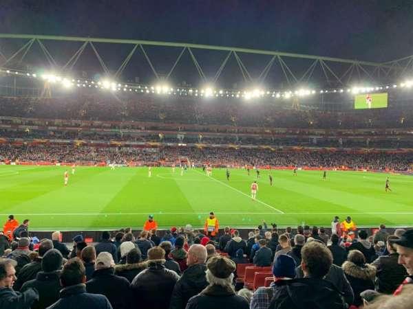 Emirates Stadium, vak: 17, rij: 17, stoel: 528