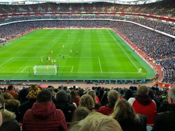 Emirates Stadium, vak: 123, rij: 14, stoel: 880