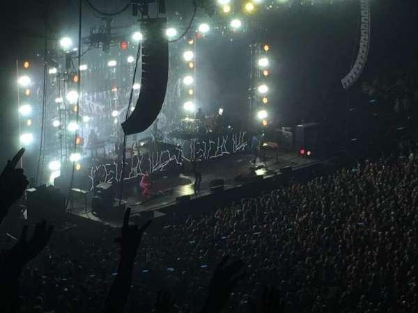 Madison Square Garden, vak: 226, rij: 8, stoel: 1
