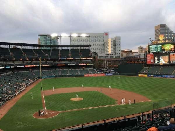 Oriole Park at Camden Yards, vak: 228, rij: 7, stoel: 11