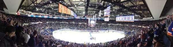 Old Nassau Veterans Memorial Coliseum, vak: 304, rij: E, stoel: 2