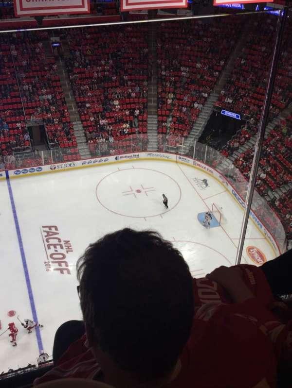 Little Caesars Arena, vak: G26, rij: 2, stoel: 7