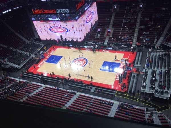 Little Caesars Arena, vak: GPB3, rij: 1, stoel: 31