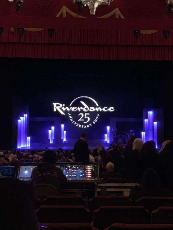 Fox Theatre (Detroit), vak: F3, rij: CC, stoel: 312
