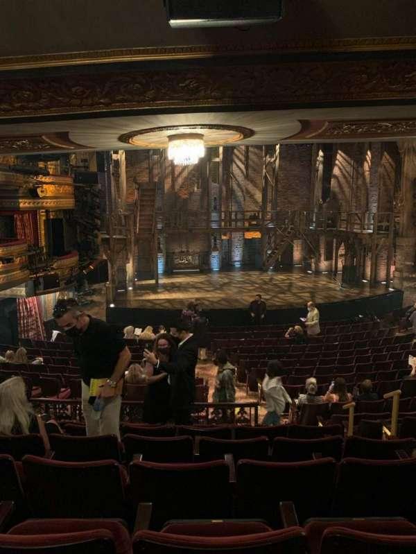 Richard Rodgers Theatre, vak: Orch, rij: S, stoel: 9