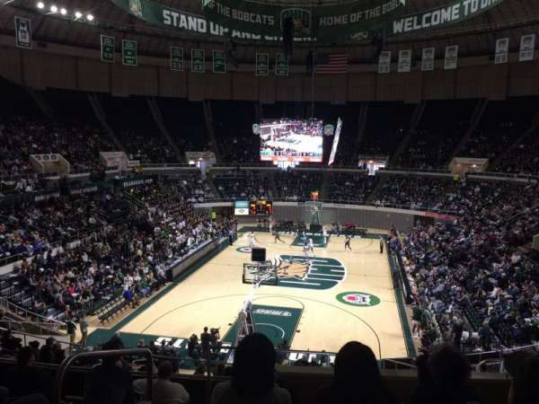 Convocation Center (Ohio University), vak: 210, rij: H, stoel: 10