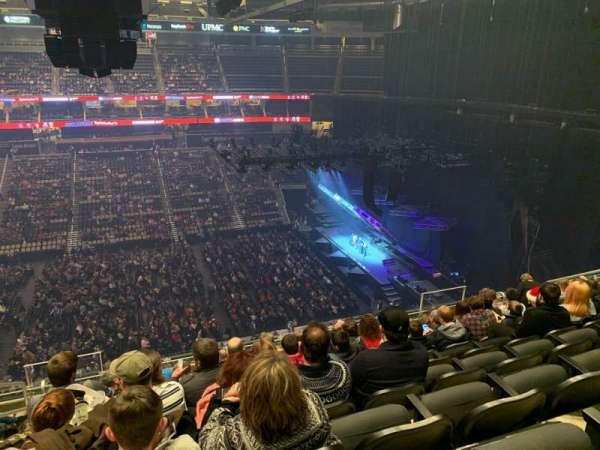 PPG Paints Arena, vak: 202, rij: K, stoel: 13
