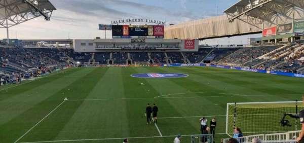 Talen Energy Stadium, vak: 138, rij: L, stoel: 10