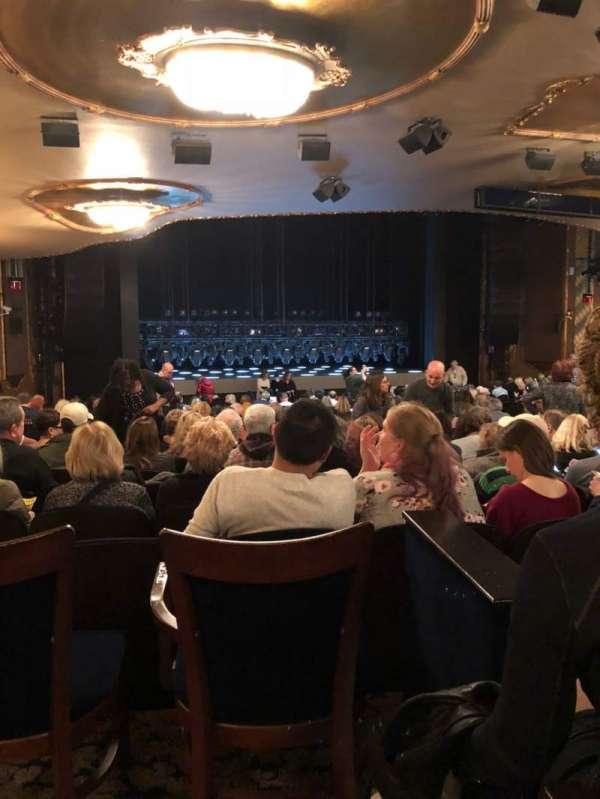 Lunt-Fontanne Theatre, vak: Orch, rij: Y, stoel: 18