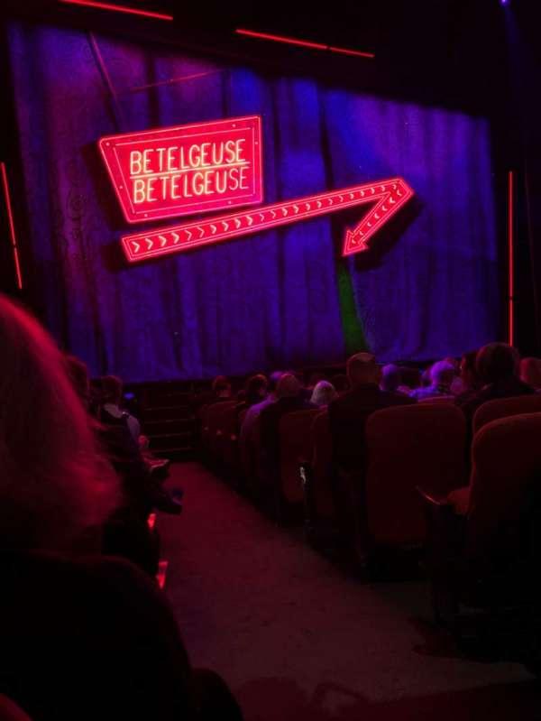 National Theatre (DC), vak: Orch, rij: M, stoel: 1