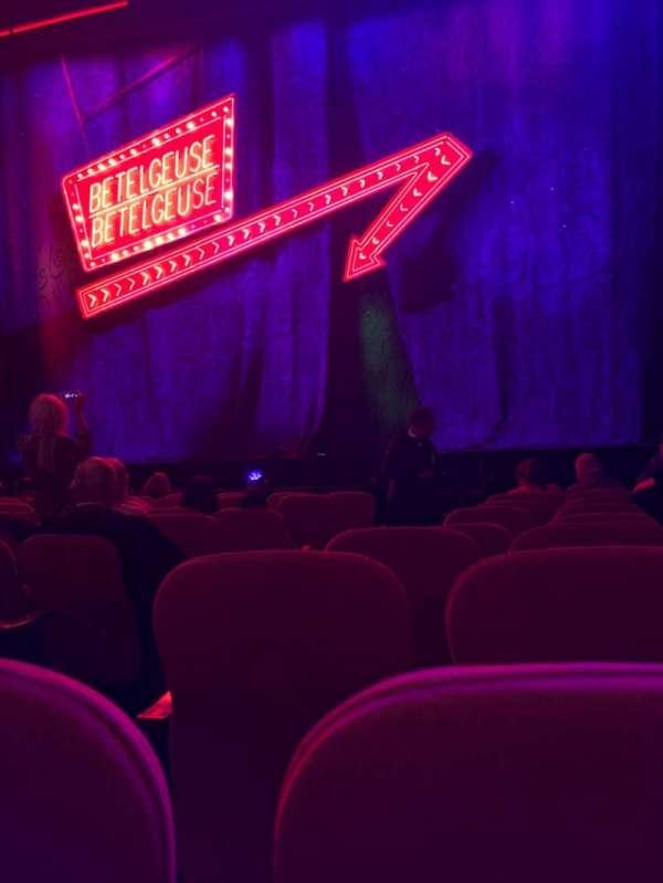 National Theatre (DC), vak: Orch, rij: J , stoel: 4