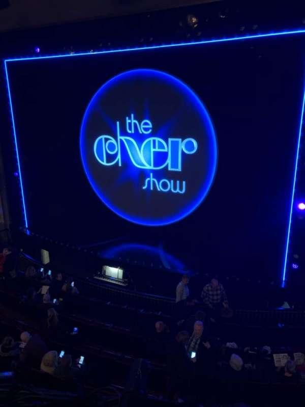 Neil Simon Theatre, vak: Mezz, rij: A, stoel: 126