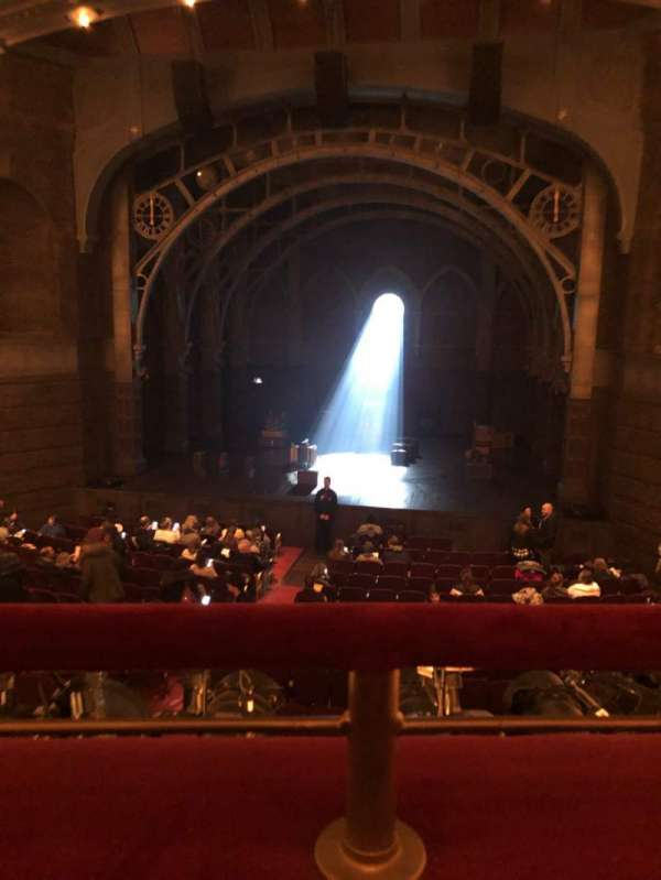 Lyric Theatre, vak: Dress Circle, rij: A, stoel: 117