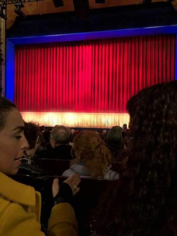 Longacre Theatre, vak: Orch, rij: N, stoel: 103