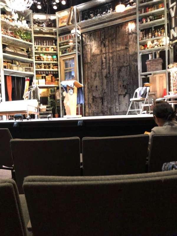 Laura Pels Theatre, vak: Orch, rij: E, stoel: 4