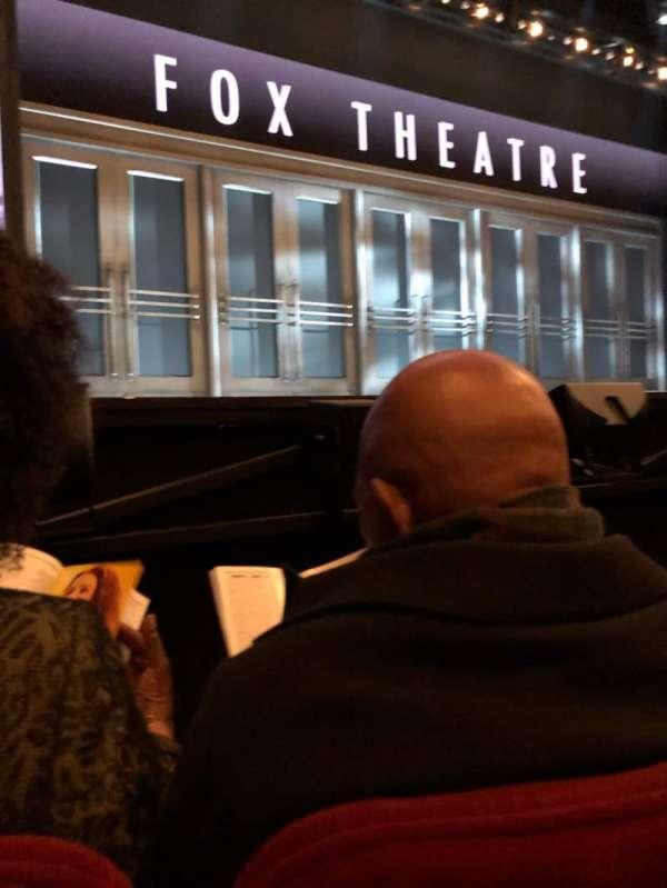 Imperial Theatre, vak: Orch, rij: AA, stoel: 3