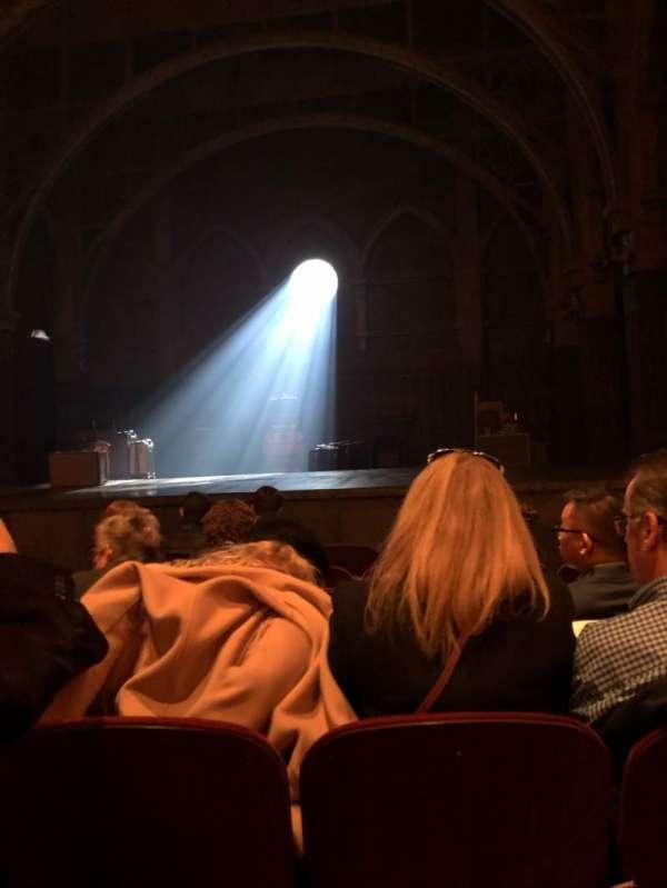 Lyric Theatre, vak: Orch, rij: F, stoel: 10