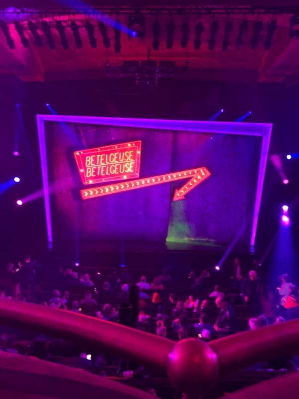 Winter Garden Theatre, vak: Mezz, rij: A, stoel: 114