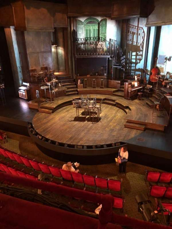 Walter Kerr Theatre, vak: Mezz, rij: B, stoel: 2