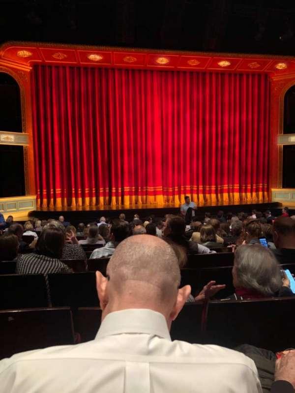 Marquis Theatre, vak: Orch, rij: Q, stoel: 106